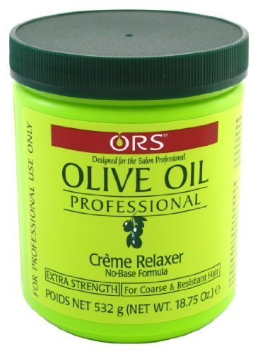 Professional Creme Relaxer (ORS OLIVE OIL PRO CREME JAR RELAXER EXTRA STRENGTH 555 ml (Haarglättungsmittel))