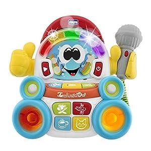 Chicco 00009492000000 Toy Karaoke Set Juguete Musical - Juguetes Musicales (Toy Karaoke Set, 3 año(s), Niño/niña,, Batería, 151 mm)