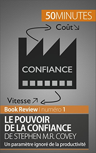 Le Pouvoir de la confiance de Stephen M.R. Covey: Un paramtre ignor de la productivit (Book Review t. 1)