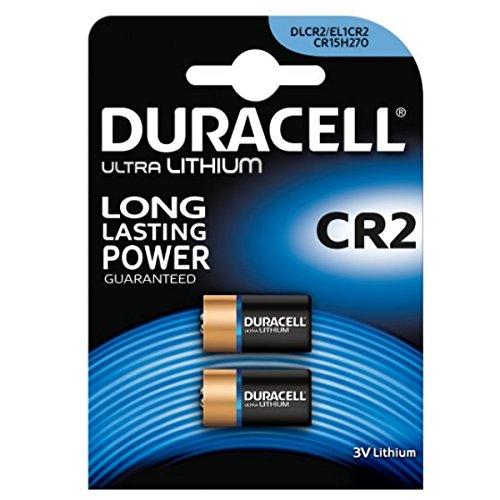 4x Duracell Ultra CR23V batería de litio Foto–DLCR2–EL1CR2–CR15H270