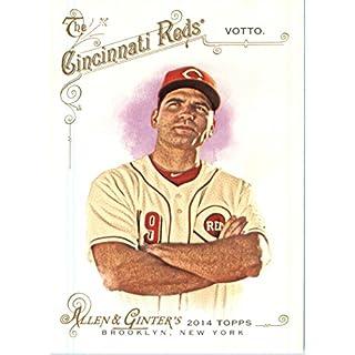 2014 Topps Allen & Ginter Baseball Card # 296 Joey Votto, Cincinnati Reds