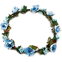 estilo distintivo comprar popular nuevo autentico Amazon.es: diademas flores - Azul
