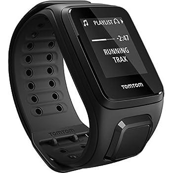 TomTom Spark Cardio + Music - Montre Fitness GPS - Bracelet Large Noir (ref 1RFM.003.01)