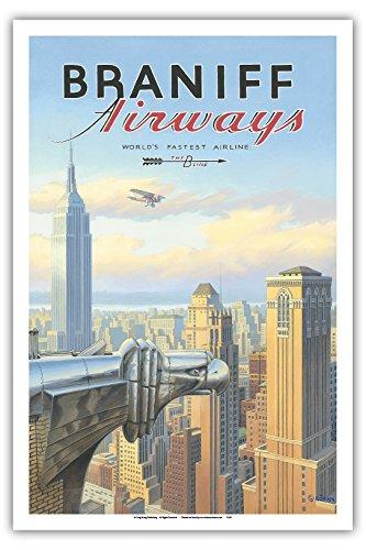 new-york-braniff-airways-gratte-ciel-chrysler-building-affiche-ancienne-vintage-companie-aerienne-po