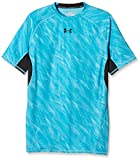 Under Armour Herren Kompressionsshirt HeatGear mit Aufdruck, Meridian Blue, XL, 1257477