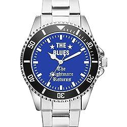KIESENBERG® Watch - THE BLUES - The Nightmare Returns - Wristwatch 6004