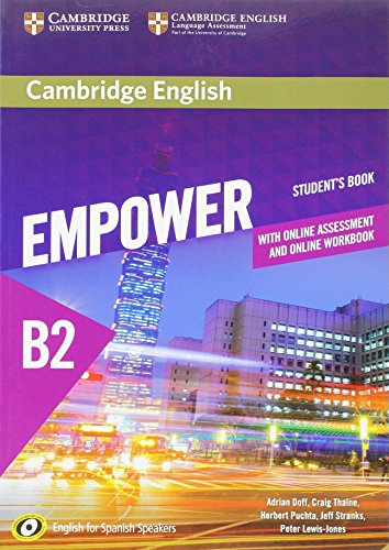Cambridge English Empower for Spanish Speakers B2 Student's Book with Online Assessment and Practice and Online Workbook por Adrian Doff