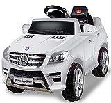 Mercedes-Benz ML 350 SUV Weiss Jeep Lizenz Kinderauto Kinderfahrzeug