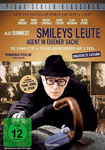 Smileys Leute: Agent in eigener Sache - Die komplette 6-teilige Agentenserie (Pidax Serien-Klassiker) [2 DVDs] -