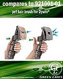 Cepillo Groomer para el cuidado de mascotas para aspiradoras Dyson. Reemplaza a 921001-01. Producto genuino de Green Label
