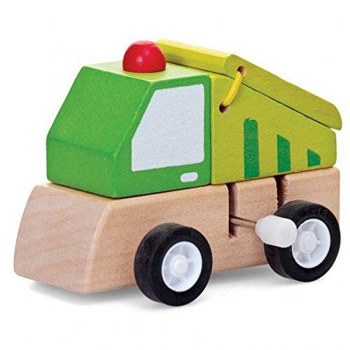 Kipper Baustellenfahrzeug Aufziehfigur - Kipper Baumaschine Aufzieh Figur Wind Up Figur