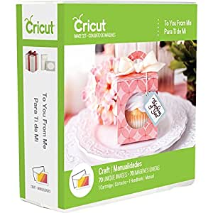 Cricut To You From Me Cartridge, Plastic, Multi-Colour