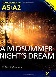 A Midsummer Night's Dream: York Notes for AS & A2 (York Notes Advanced) by Michael Sherborne (2013-07-29)