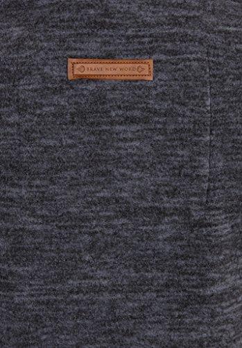 Naketano Female Zipped Jacket Jüberagend Dirty Indigo Blue Melange