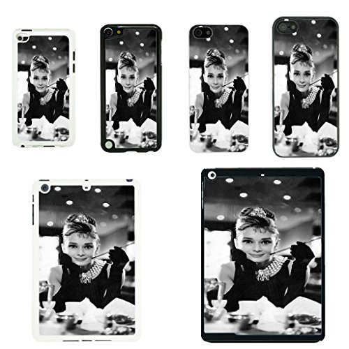Audrey Hepburn Schutzhülle für Apple iPod Touch 4th Gen - Breakfast At Tiffany's - 110 - Weiß -
