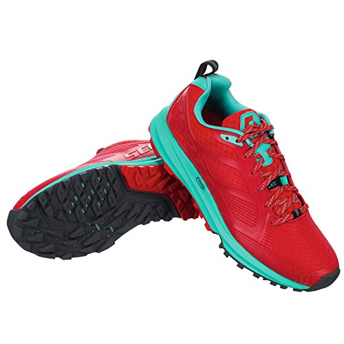 SCOTT Damen Laufschuhe red/green