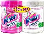 Vanish Laundry Pink Powder 1kg + White Powder 900g