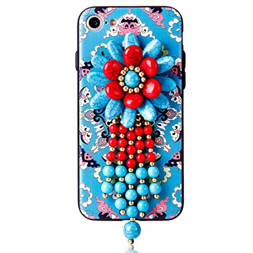 "iPhone 7 Hülle, iPhone 7 Handytasche CLTPY Premium Weich Silikon Case, Luxury Bunt Vintage Jewelry Handmade Schale Etui für 4.7"" Apple iPhone 7 + 1 x Stift - Retro Totem 1 Retro Totem 6"