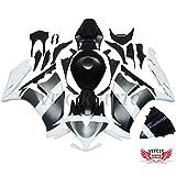 VITCIK (Kit de Carenado para Honda CBR1000RR 2012 2013 2014 CBR 1000RR 12 13 14) Accesorios de repuesto para bastidor y carrocería con completo para motocicleta y moldeo por inyección en ABS(Negro & Blanco) A026