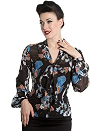 Hell Bunny Bluse STARRY NIGHT BLOUSE 6567