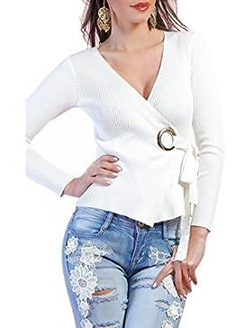 INFINIE PASSION - punto - sexy top bianco