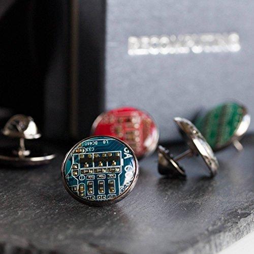 Circuit board pin, black