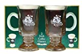 The Shamrock Gift Gl�ser f�r Irish Coffee, 2 St�ck