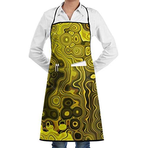 Lucy Brown Kostüm - xcvgcxcvasda Einstellbare Latzschürze mit Tasche, Yellow,