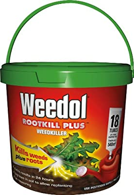 Scotts Miracle-Gro Weedol Rootkill Plus Weedkiller Ready To Use Spray, 1 L