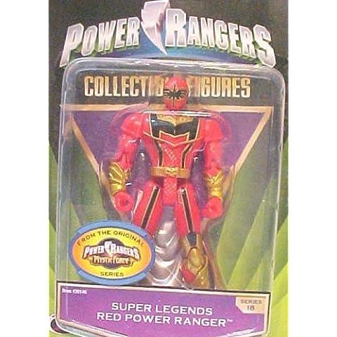 Collectible Power Ranger Super Legends Series 18 Red Power Ranger by Ban Dai