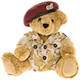 Osito de Peluche del Ejército con Boina Roja - Ositos de Peluche de Gran Bretaña