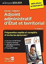 Concours Adjoint administratif d'État et territorial - Préparation rapide et complète à toutes les épreuves ! Concours 2018-2019