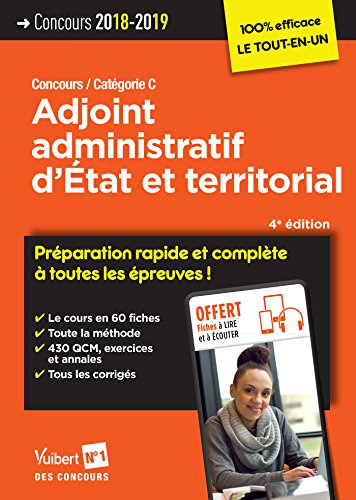 Concours Adjoint administratif d'État et territorial