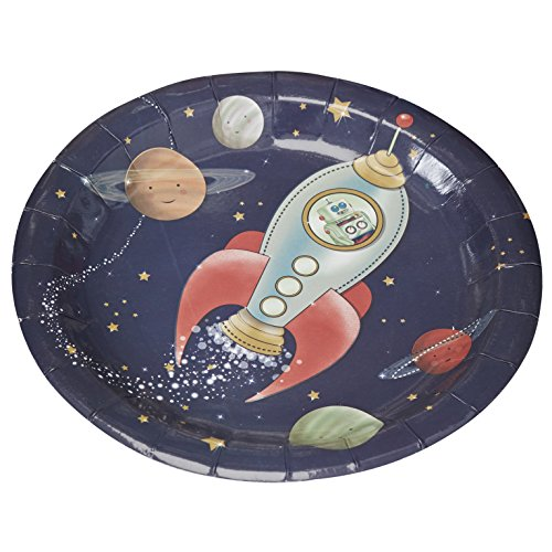 Papier Kids Party Teller - Space-Abenteuer-Partei (Party Kids)