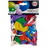 TIB 16816 - Luftballons gem. Farben und Größen, bunt 100 Stück