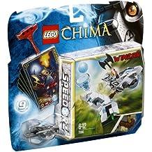 """LEGO Legends of Chima 70106 - Speedorz """"Torre de Hielo"""", juegos de construcción"""