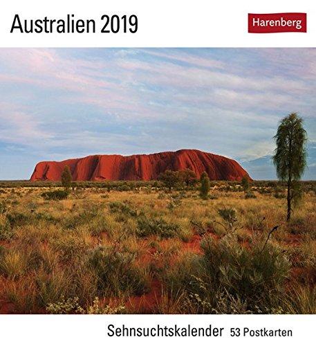 Australien - Kalender 2019: Sehnsuchtskalender, 53 Postkarten