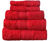 Catherine Lansfield Cl Home Hand Towel, Cherry Red