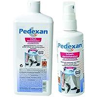 Pedexan Schuhdesinfektion 125 ml Sprühflasche und Pedexan 1 l Nachfüllpack zur Schuh-Innenpflege, Desinfektionsmittel... preisvergleich bei billige-tabletten.eu