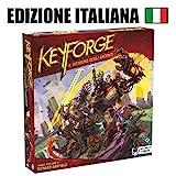 Asmodee Italia- Keyforge, Il Richiamo degli Arconti-Starter Set Gioco da Tavolo, Colore Rosso, 10600