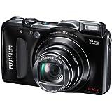 """Fujifilm FinePix F600EXR Appareil photo numérique 16 Mpix Zoom Optique 15x Ecran LCD 3"""" Noir"""