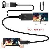 Universal Micro USB MHL a HDMI HDTV Adaptador para Samsung Galaxy S5S4S3I9300S2LG Sony HTC Android teléfono celular 1080P HDTV AV Cable convertidor