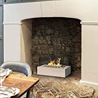 Imagin Bioethanol Fireplace - Eton White