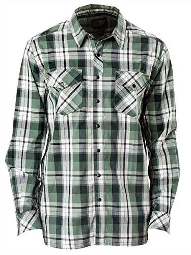 5.11 Tactical Peak Shirt Thyme Plaid, L, Grün 5.11 Tactical Tactical Flannel