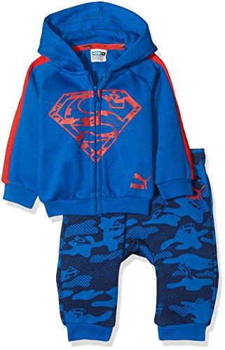 PUMA Jungen Justice League Hooded Jogger Trainingsanzug, Lapis Blue, 86