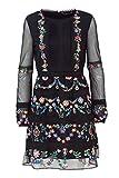 Desigual Kurzes Kleid Damen Vest Berna 18WWVW45 38 (s) schwarz
