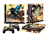 #9: Elton Grand Theft Auto V Gta 5 Decal Cover For Sony PS4 Console And Playstation 4 Controllers (Multicolour)