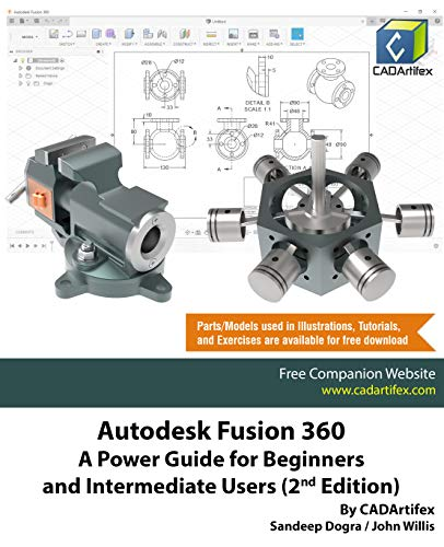 Autodesk Fusion 360: A Power Guide for Beginners and Intermediate Users (2nd Edition) (English Edition)