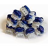 Digisky®-Set: 50 stuks waterdichte kabelconnector voor auto's van Husqvarna en Gardena robotmaaier (R40Li, R45 Li, R70Li) (3M