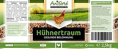 AniForte Hühnertraum - Gesunde Belohnung 2,5 kg - Naturprodukt für Hühner von Görges Naturprodukte GmbH bei Du und dein Garten
